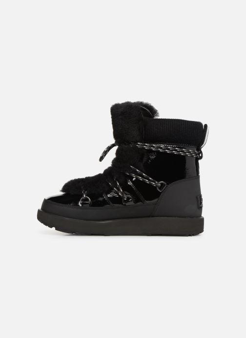 Zapatillas de deporte UGG W Highland Waterproof Negro vista de frente
