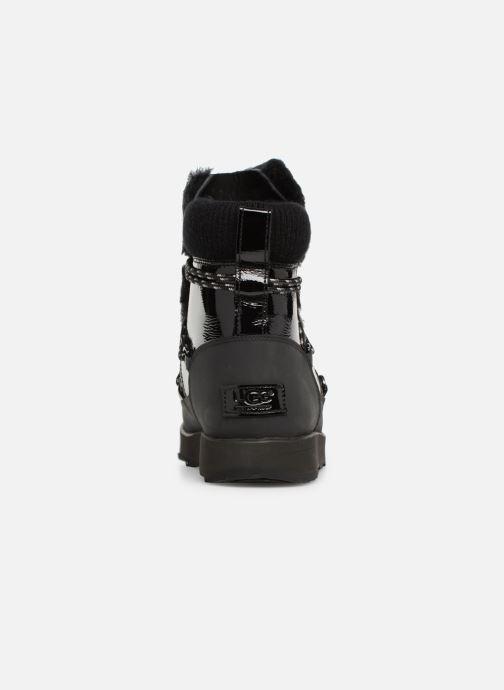 Zapatillas de deporte UGG W Highland Waterproof Negro vista lateral derecha