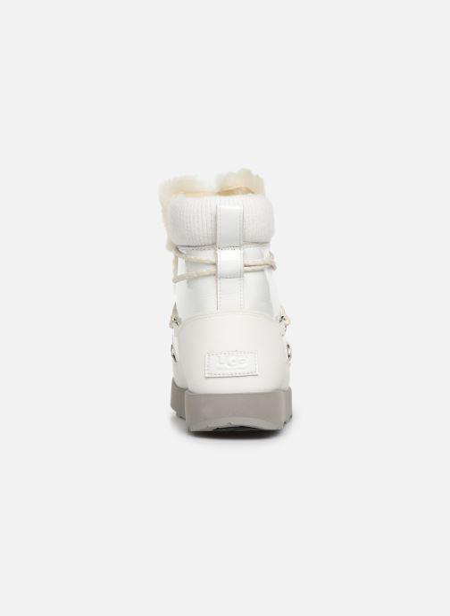 Chaussures de sport UGG W Highland Waterproof Blanc vue droite
