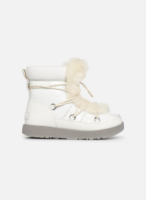 Chaussures de sport UGG W Highland Waterproof Blanc vue derrière