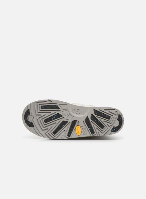 Chaussures de sport UGG W Highland Waterproof Blanc vue haut