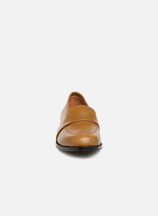 Mocassins Craie Moccs Marron vue portées chaussures