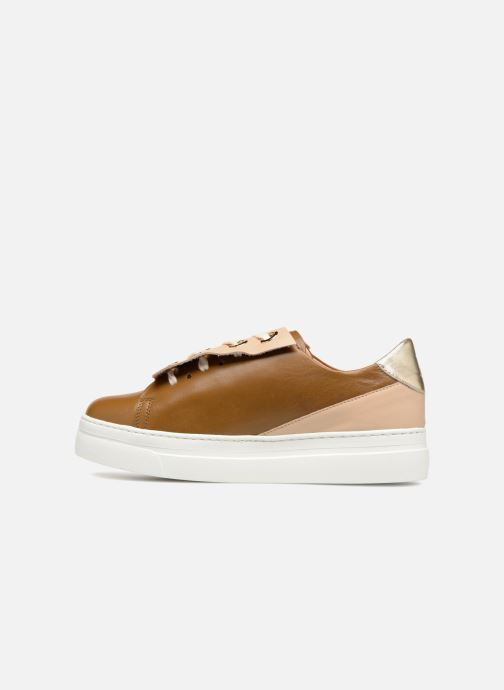 Sneakers Craie Past Circle Oro e bronzo immagine frontale