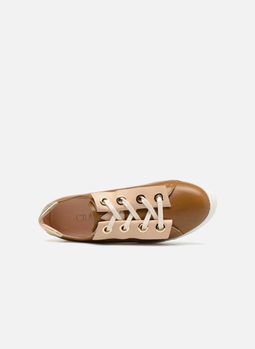 Sneaker Craie Past Circle gold/bronze ansicht von links