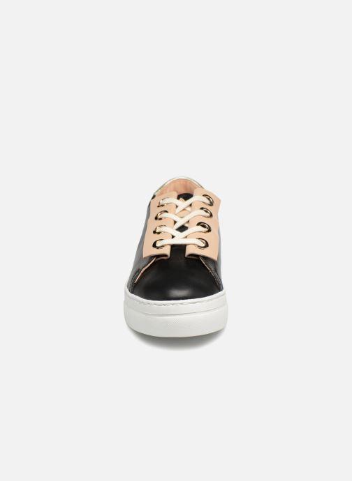 Baskets Craie Past Circle Noir vue portées chaussures