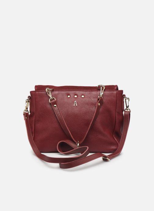 Handbags Craie Mini Maths Burgundy front view