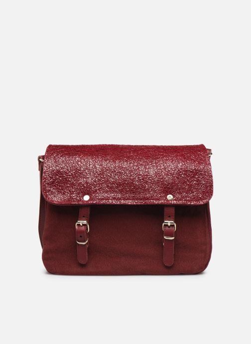 Handbags Craie Mini Maths Burgundy back view