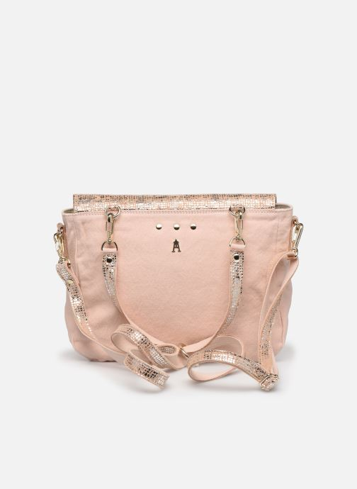 Handtaschen Craie Mini Maths silber ansicht von vorne
