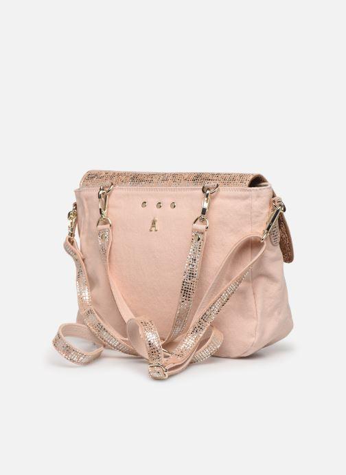 Handtaschen Craie Mini Maths silber ansicht von rechts