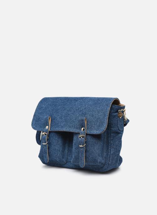 Handtaschen Craie Mini Maths blau schuhe getragen