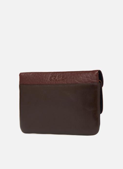 Portemonnaies & Clutches Craie Maxi pocket orange ansicht von rechts