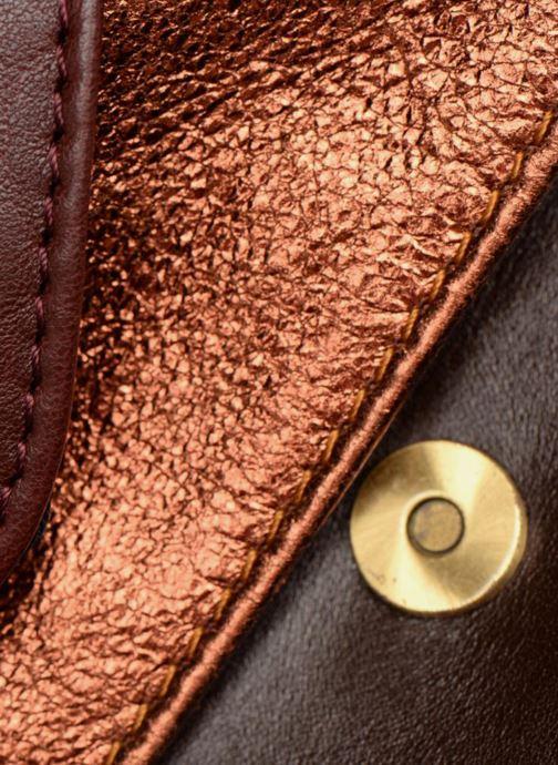 Portemonnaies & Clutches Craie Maxi pocket orange ansicht von links