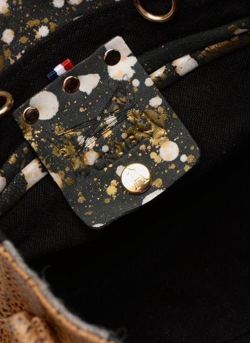 Handbags Craie Video Brown back view