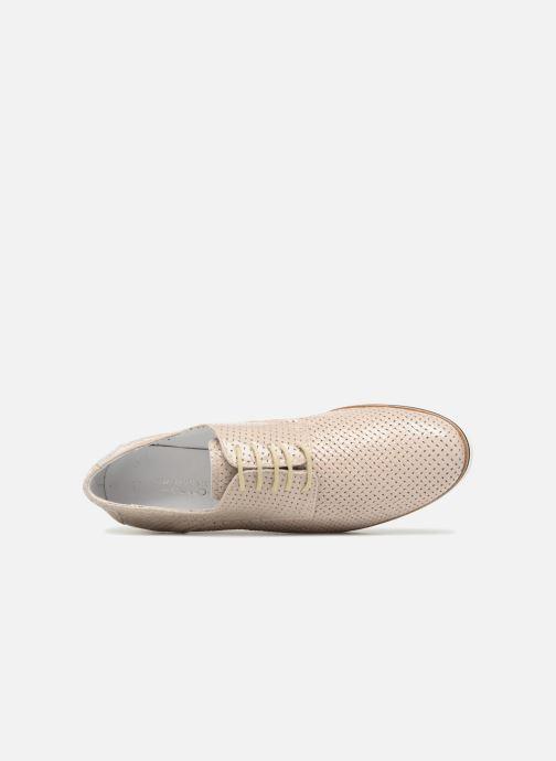 Chaussures à lacets Elizabeth Stuart ARMY 328 Beige vue gauche