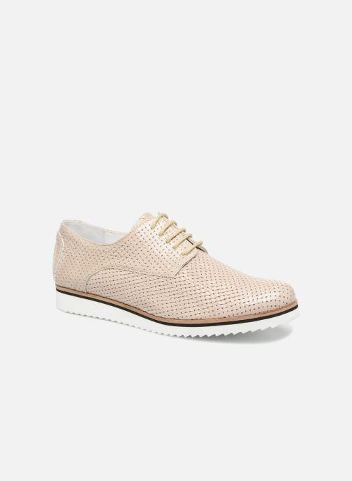 Chaussures à lacets Elizabeth Stuart ARMY 328 Beige vue détail/paire