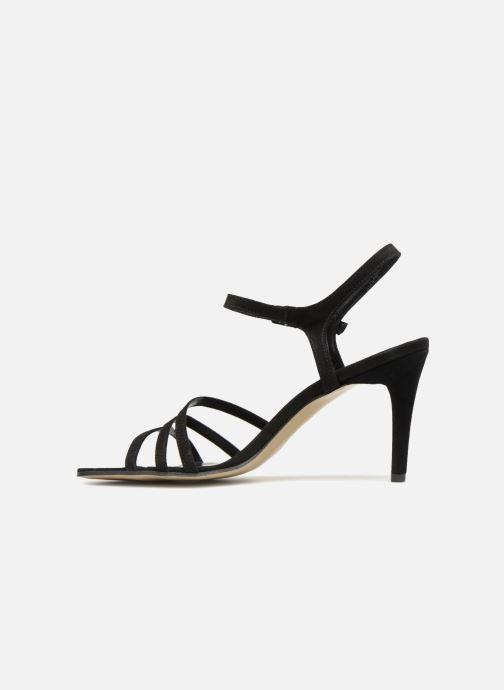 Sandales et nu-pieds Elizabeth Stuart Baza 300 Noir vue face