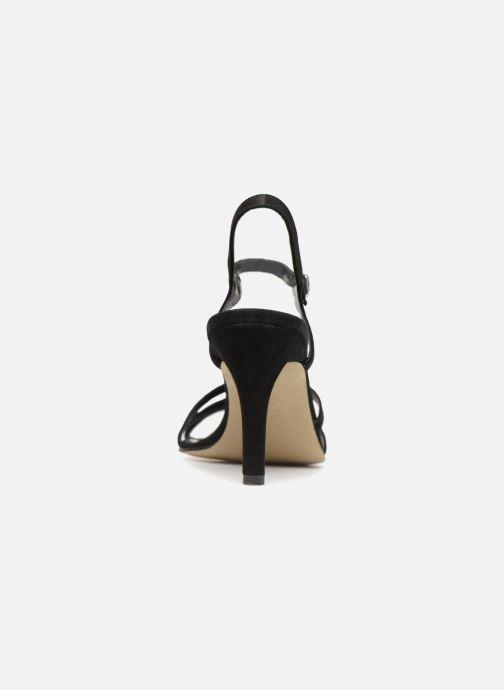 Sandales et nu-pieds Elizabeth Stuart Baza 300 Noir vue droite