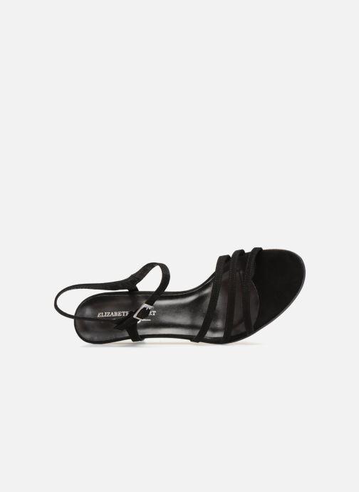 Sandales et nu-pieds Elizabeth Stuart Baza 300 Noir vue gauche