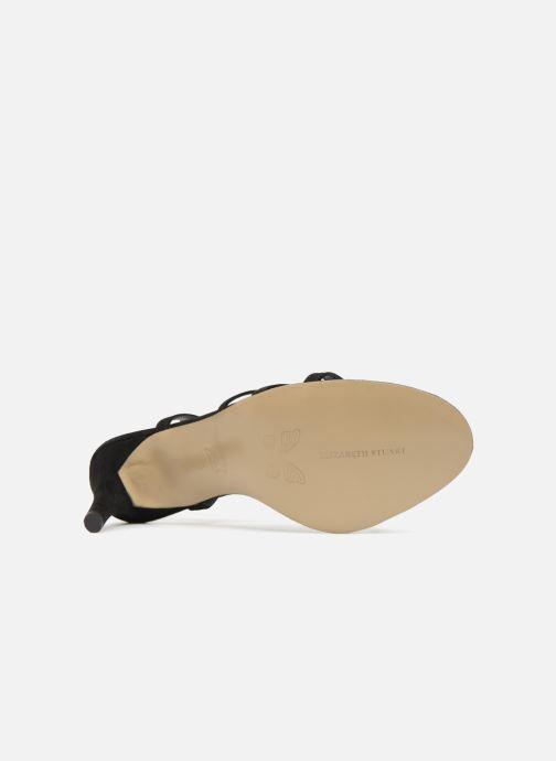 Sandales et nu-pieds Elizabeth Stuart Baza 300 Noir vue haut