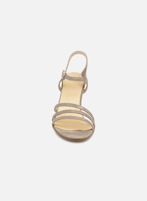 Sandales et nu-pieds Elizabeth Stuart BAZA 415 Gris vue portées chaussures