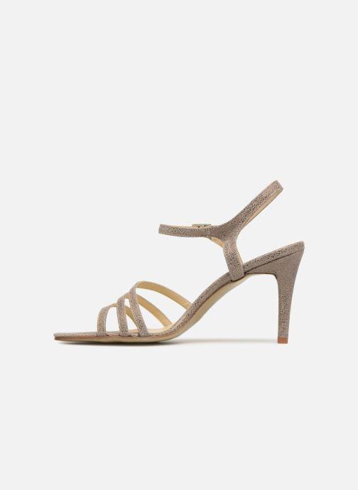 Sandales et nu-pieds Elizabeth Stuart BAZA 415 Gris vue face