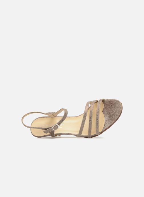 Sandales et nu-pieds Elizabeth Stuart BAZA 415 Gris vue gauche