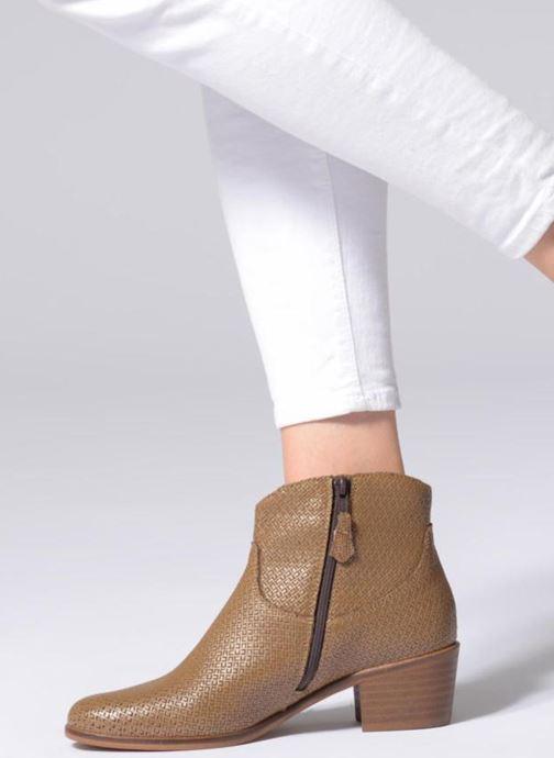 Stiefeletten & Boots Elizabeth Stuart COPPER 326 braun ansicht von unten / tasche getragen