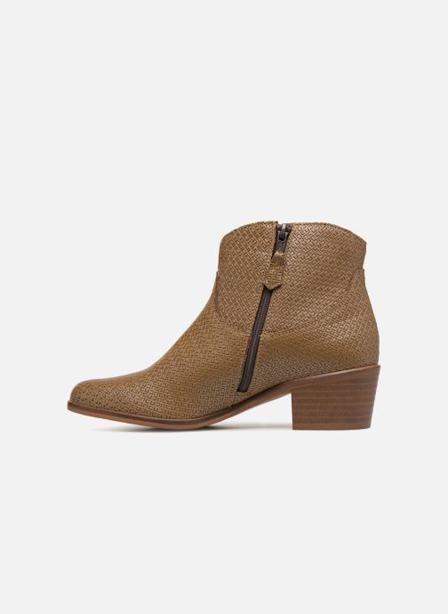 Bottines et boots Elizabeth Stuart COPPER 326 Marron vue face