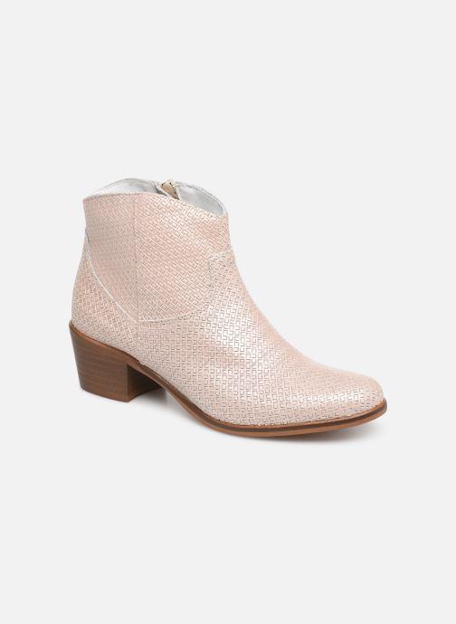 Bottines et boots Elizabeth Stuart COPPER 326 Beige vue détail/paire