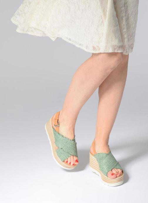 Sandales et nu-pieds Elizabeth Stuart Denver 805 Vert vue bas / vue portée sac