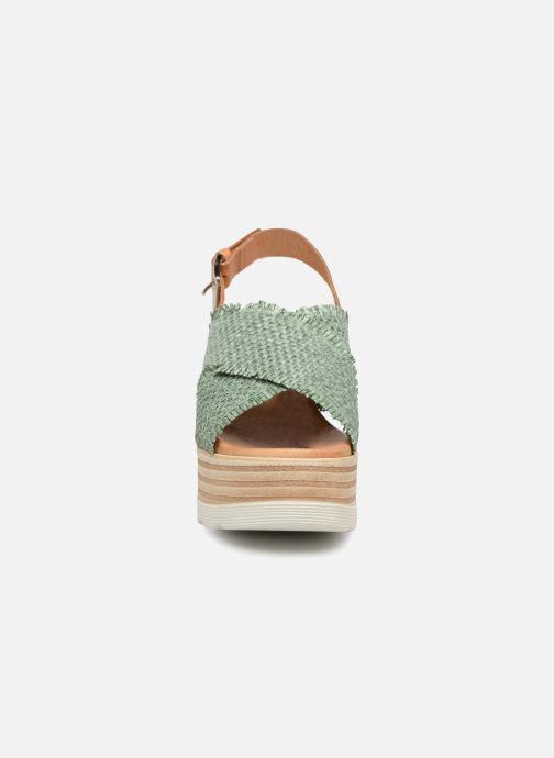 Sandales et nu-pieds Elizabeth Stuart Denver 805 Vert vue portées chaussures