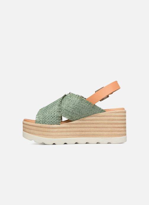 Sandales et nu-pieds Elizabeth Stuart Denver 805 Vert vue face