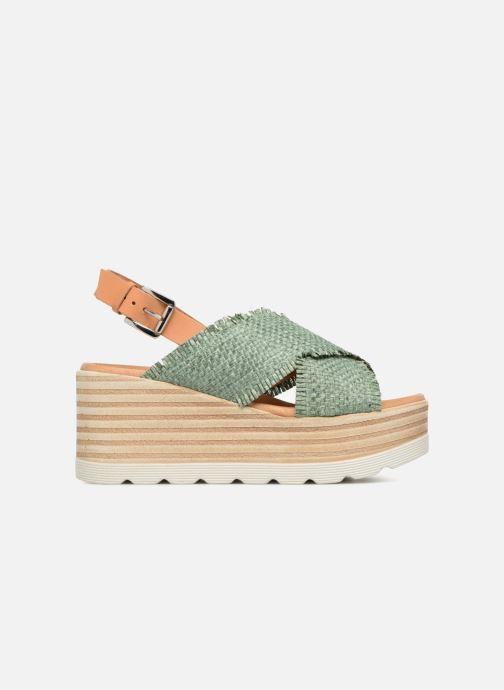 Sandales et nu-pieds Elizabeth Stuart Denver 805 Vert vue derrière