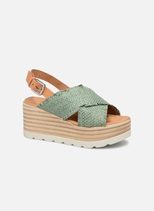 Sandales et nu-pieds Elizabeth Stuart Denver 805 Vert vue détail/paire