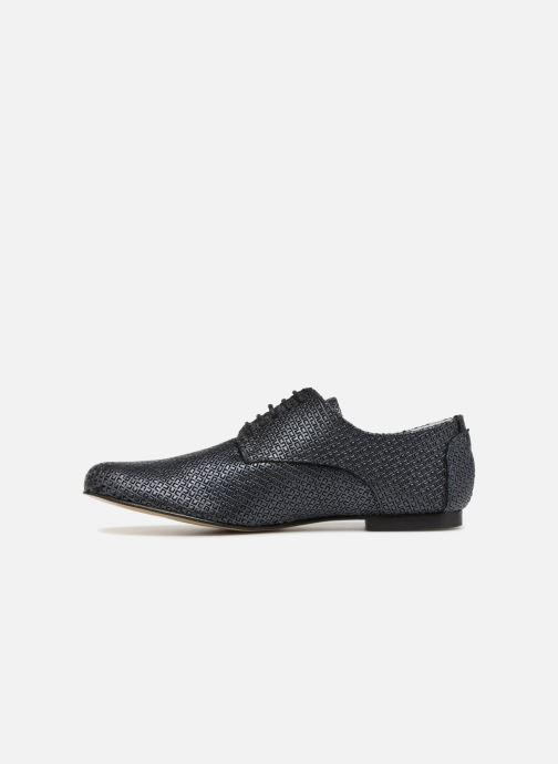 Zapatos con cordones Elizabeth Stuart Issio 326 Azul vista de frente