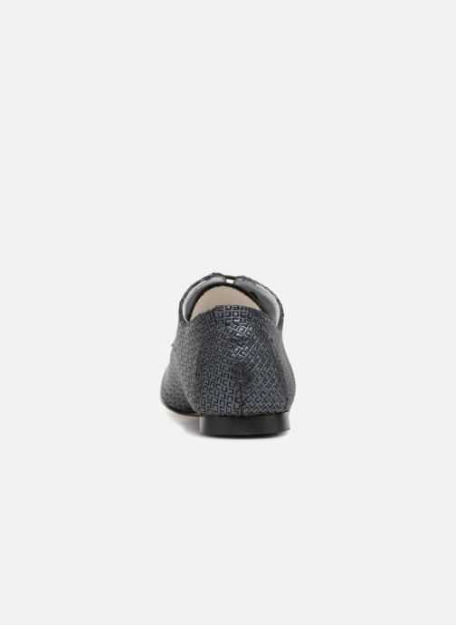 Zapatos con cordones Elizabeth Stuart Issio 326 Azul vista lateral derecha