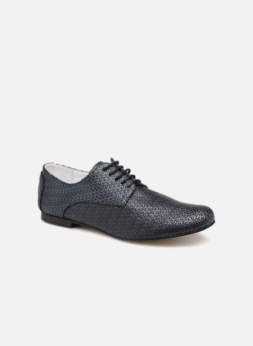 Zapatos con cordones Elizabeth Stuart Issio 326 Azul vista de detalle / par
