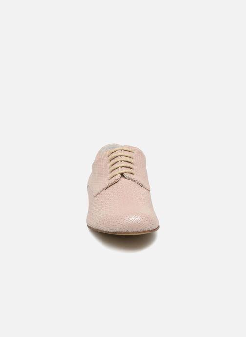 Chaussures à lacets Elizabeth Stuart Issio 326 Beige vue portées chaussures