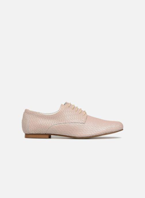 Zapatos con cordones Elizabeth Stuart Issio 326 Beige vistra trasera
