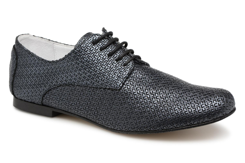 chez Chaussures ISSIO Elizabeth 326 lacets Stuart Sarenza Bleu à T0xZOqw