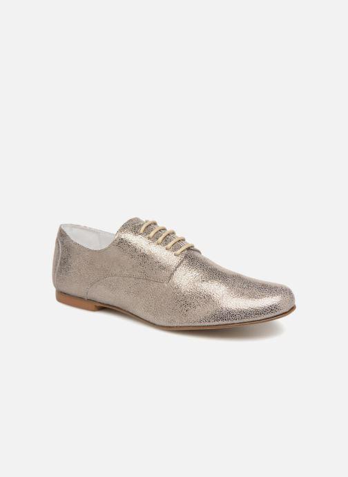 Lace-up shoes Elizabeth Stuart ISSIO 415 Silver detailed view/ Pair view