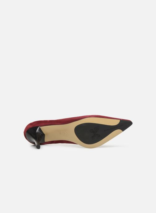 Zapatos de tacón Elizabeth Stuart Lana 300 Vino vista de arriba