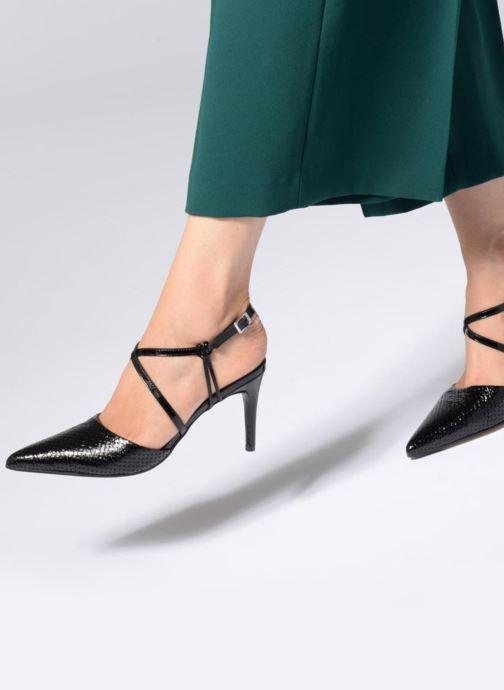 Sandales et nu-pieds Elizabeth Stuart LUCY 454 Noir vue bas / vue portée sac