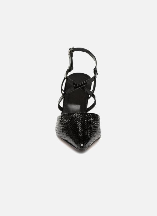 Sandales et nu-pieds Elizabeth Stuart LUCY 454 Noir vue portées chaussures