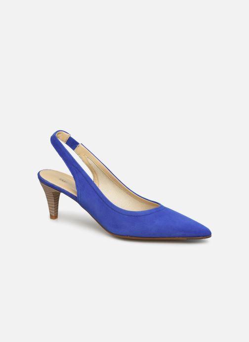 Escarpins Elizabeth Stuart Revel 300 Bleu vue détail/paire