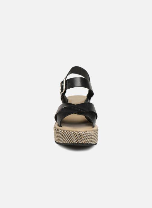 Sandales et nu-pieds Elizabeth Stuart TOKKO 466 Noir vue portées chaussures