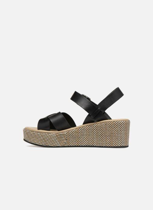 Sandales et nu-pieds Elizabeth Stuart TOKKO 466 Noir vue face