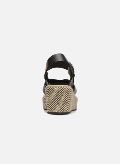 Sandales et nu-pieds Elizabeth Stuart TOKKO 466 Noir vue droite