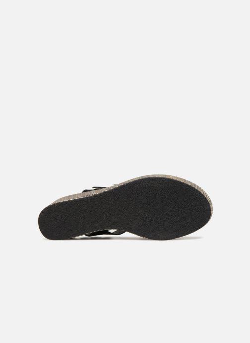 Sandales et nu-pieds Elizabeth Stuart TOKKO 466 Noir vue haut