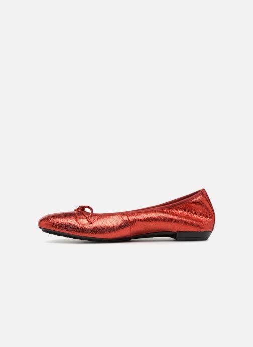 Ballet pumps Elizabeth Stuart YONIS 242 Red front view